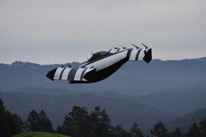 Một mẫu ô tô bay đầy triển vọng vừa được trình làng với sự hậu thuẫn của Larry Page – người đồng sáng lập Google