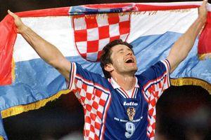 KÍ ỨC: Davor Suker 1998 và cảm hứng của bóng đá Croatia