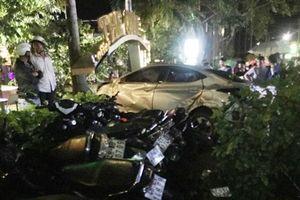 Xe điên tông chết hai nữ sinh 18 tuổi tại quán cafe