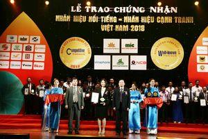 Nhãn hiệu nổi tiếng Việt Nam 2018 vinh danh Tập đoàn TMS