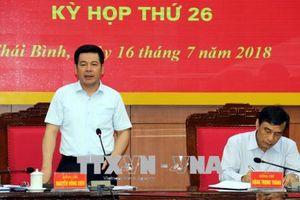 Thái Bình: Quán triệt, triển khai Kết luận 32 của Bộ Chính trị về tình hình an ninh, trật tự nổi lên gần đây