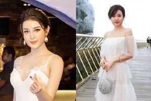 Á hậu Huyền My, Midu đẹp hết phần người khác khi cùng diện váy trắng