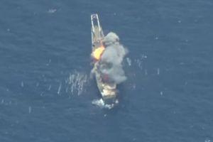Tên lửa Mỹ-Nhật đánh chìm tàu chiến trong tập trận RIMPAC
