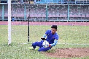 Thủ môn đội cuối bảng V-League được triệu tập lên đội Olympic Việt Nam