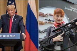 Người đẹp tóc đỏ bị Mỹ cáo buộc là điệp viên Nga