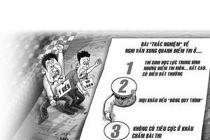 Xung quanh điểm thi bất thường ở Hà Giang: Rà soát gấp rút và căng thẳng