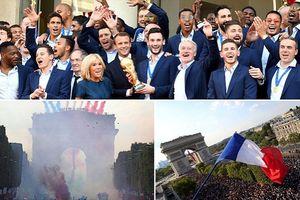 Dù thắng hay thua, Pháp và Croatia đều được chào đón như những người hùng trở về