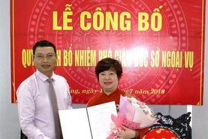 Sở Ngoại vụ Đà Nẵng có Phó Giám đốc mới