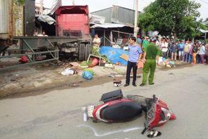 Xe container đâm chết bé gái 5 tuổi: Đang xác định tốc độ