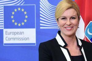 Thán phục sự nghiệp của Tổng thống Croatia xinh đẹp