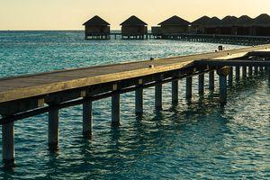 Sang chảnh ở Maldives