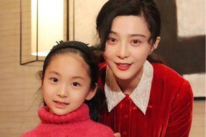 Em họ 7 tuổi của Phạm Băng Băng đi đóng phim