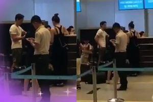 Trong khi thiên hạ đồn đoán Hà Hồ chia tay Kim Lý, fan tung clip cặp tình nhân vẫn 'tay siết chặt tay' đập tan mọi nghi vấn