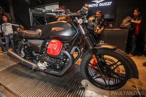 Ảnh chi tiết Moto Guzzi V7 III Carbon 2018 tại Malaysia