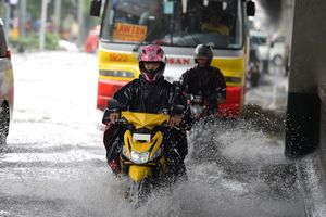 Bão Sơn Tinh gây ngập lụt trên diện rộng tại Philippines