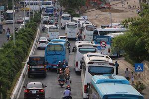 Hai sở 'tranh cãi' về ách tắc giao thông ở Nha Trang