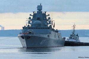 Nga chật vật biên chế tàu khu trục Đô đốc Gorshkov sau 12 năm