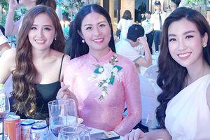 Dàn sao Việt dự lễ cưới Á hậu Tú Anh