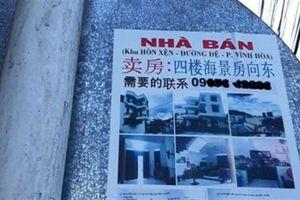 Người Trung Quốc gom đất ở Nha Trang: 'Không có chuyện đó'