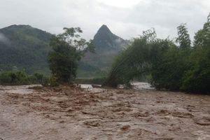 Lũ quét, ngập lụt gây thiệt hại nặng nề ở nhiều địa phương