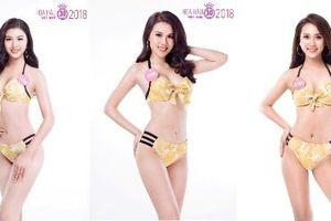 Bỏng mắt bộ ảnh bikini khoe dáng 'nuột' của dàn người đẹp HHVN 2018