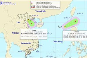 Áp thấp nhiệt đới khiến Bắc Biển Đông mưa dông mạnh