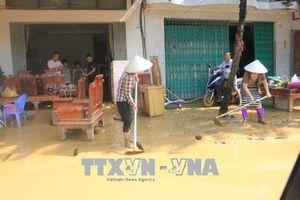 Phú Thọ tập trung khắc phục hậu quả mưa lũ