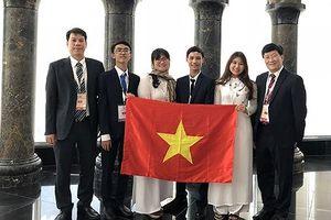Việt Nam làm nên lịch sử tại Olympic Sinh học quốc tế năm 2018: Xếp thứ 1, 3 HCV, 1 HCB