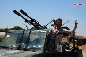 Quân đội Syria giải phóng 36 cứ địa ở Quneitra, phe thánh chiến đầu hàng nộp 9 xe tăng