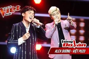 Alex Dương - Việt Puzo tranh tài 'nghẹt thở', mở màn vòng Đo ván - The Voice 2018