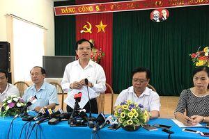 Bộ Công an đang xác minh sai phạm trong bê bối điểm thi ở Sơn La