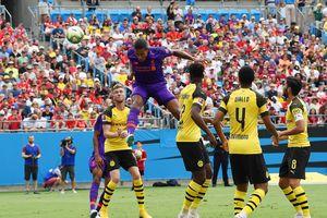Tân binh đắt giá nhất thế giới không ra sân, Liverpool gục ngã trước Dortmund