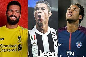 Đội hình đắt giá nhất lịch sử bóng đá: Neymar sát cánh cùng Ronaldo