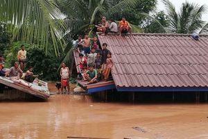 Vỡ đập thủy điện Lào: Mưa quá lớn, vừa thông báo xả đập thì vỡ đập