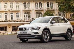 Volkswagen Tiguan Allspace giá 1,69 tỷ lăn bánh ở Sài Gòn