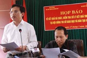Bộ GD-ĐT phản hồi thông tin biết trước sai phạm ở Hà Giang