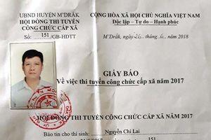 Đắk Lắk: Công chức lại phải đi thi công chức