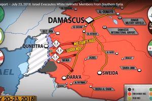 Quân đội Syria đè bẹp thánh chiến chiếm hoàn toàn Daraa, Israel nghe lệnh Mỹ di tản nhóm Mũ bảo hiểm trắng