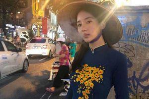 Nghệ sĩ nam nói gì về việc Han Seo Hee mặc áo dài Việt hút thuốc?