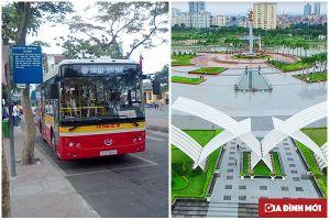 Xe buýt đến công viên Hòa Bình thông tin các tuyến, lộ trình chi tiết
