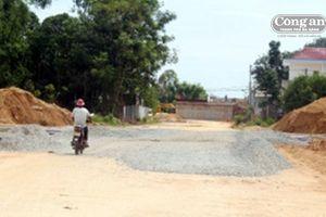 Quảng Nam: Nhiều công trình trọng điểm chậm tiến độ