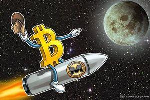 Giá Bitcoin tăng chóng mặt, vốn hóa hơn 300 tỷ USD