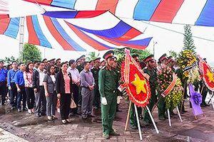 Khánh thành mộ chung 34 liệt sĩ hy sinh tại Chư Tan Kra, Kon Tum