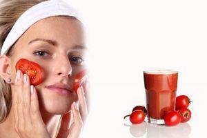 4 công thức làm đẹp từ cà chua, bạn không nên bỏ qua
