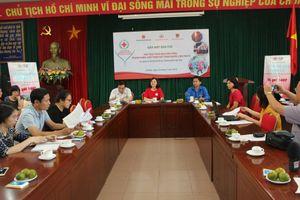 Hơn 500 đại biểu dự Hội trại Tình nguyện viên, thanh niên Chữ thập đỏ lần V