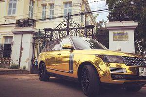 Xe Range Rover 'mạ vàng' trước dinh thự công tử Bạc Liêu