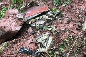 Hiện trường tìm kiếm máy bay SU-22 bị rơi tại Nghệ An