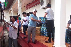 Quân khu 5 thành lập đoàn giúp Lào khắc phục hậu quả vỡ đập thủy điện
