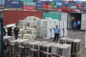 Khởi tố vụ nhập lậu 8 conainer hàng cấm qua cảng Cát Lái