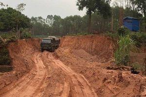 'Giật mình' trước số liệu sai phạm về khoáng sản tại Bắc Giang